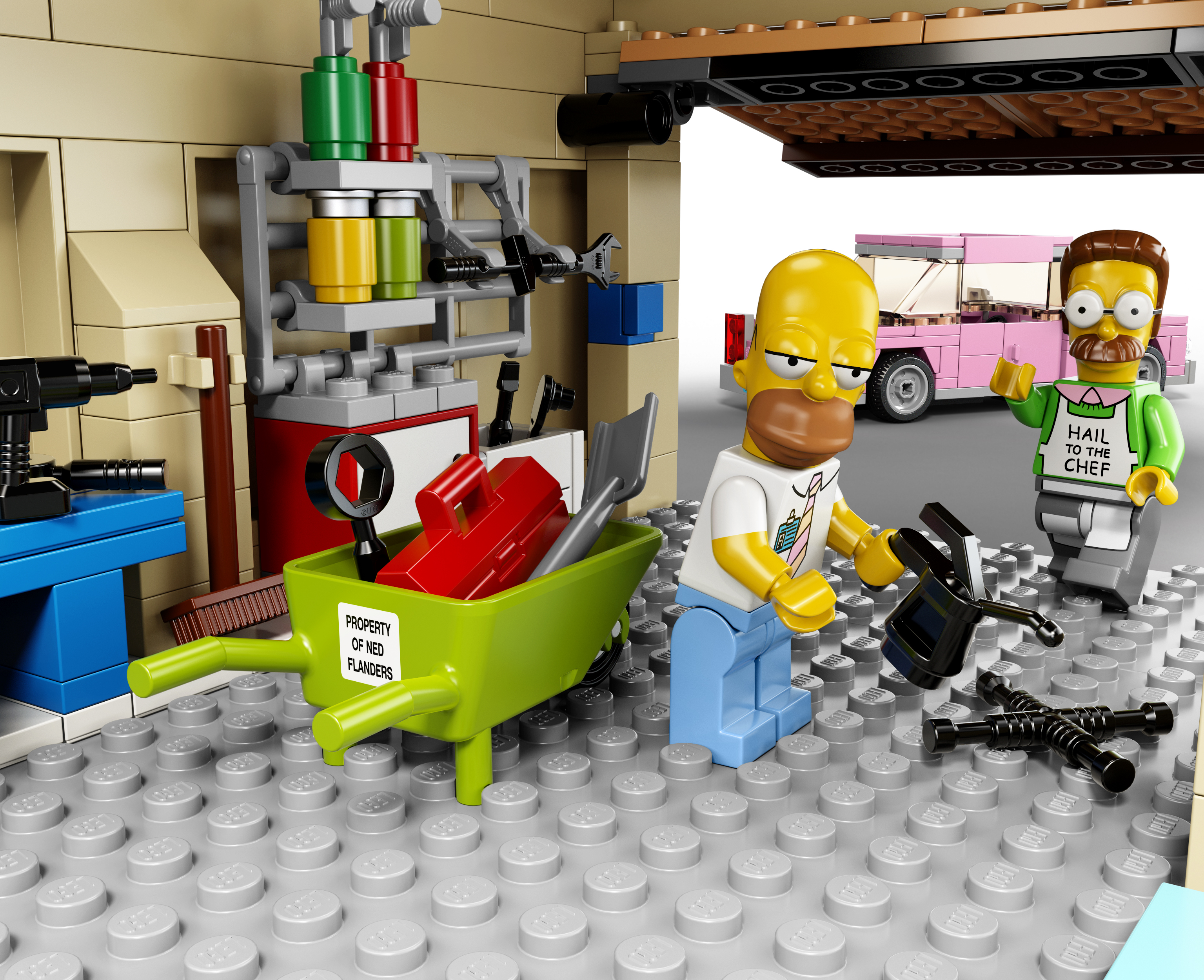Lego Toy Food : Lego officially announces the simpsons family house