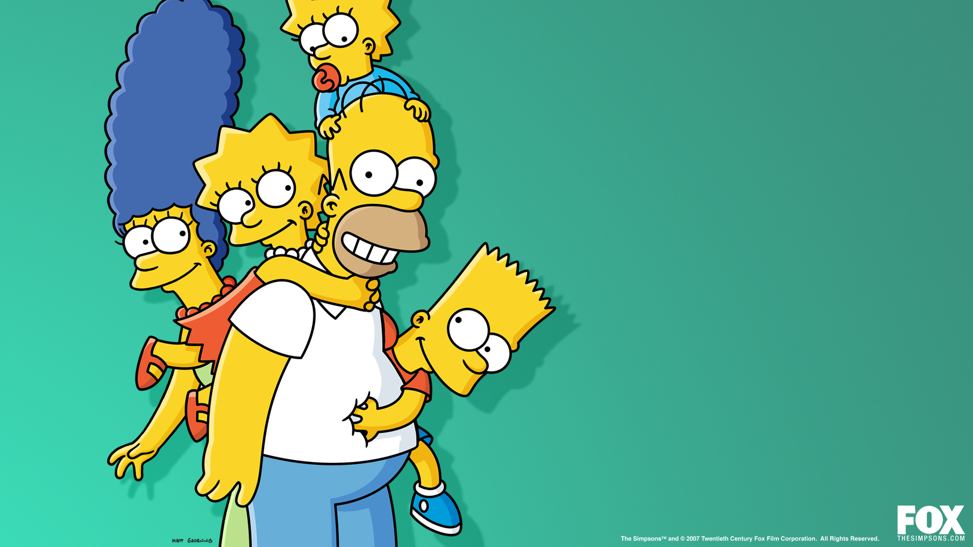 Lego Simpsons Family