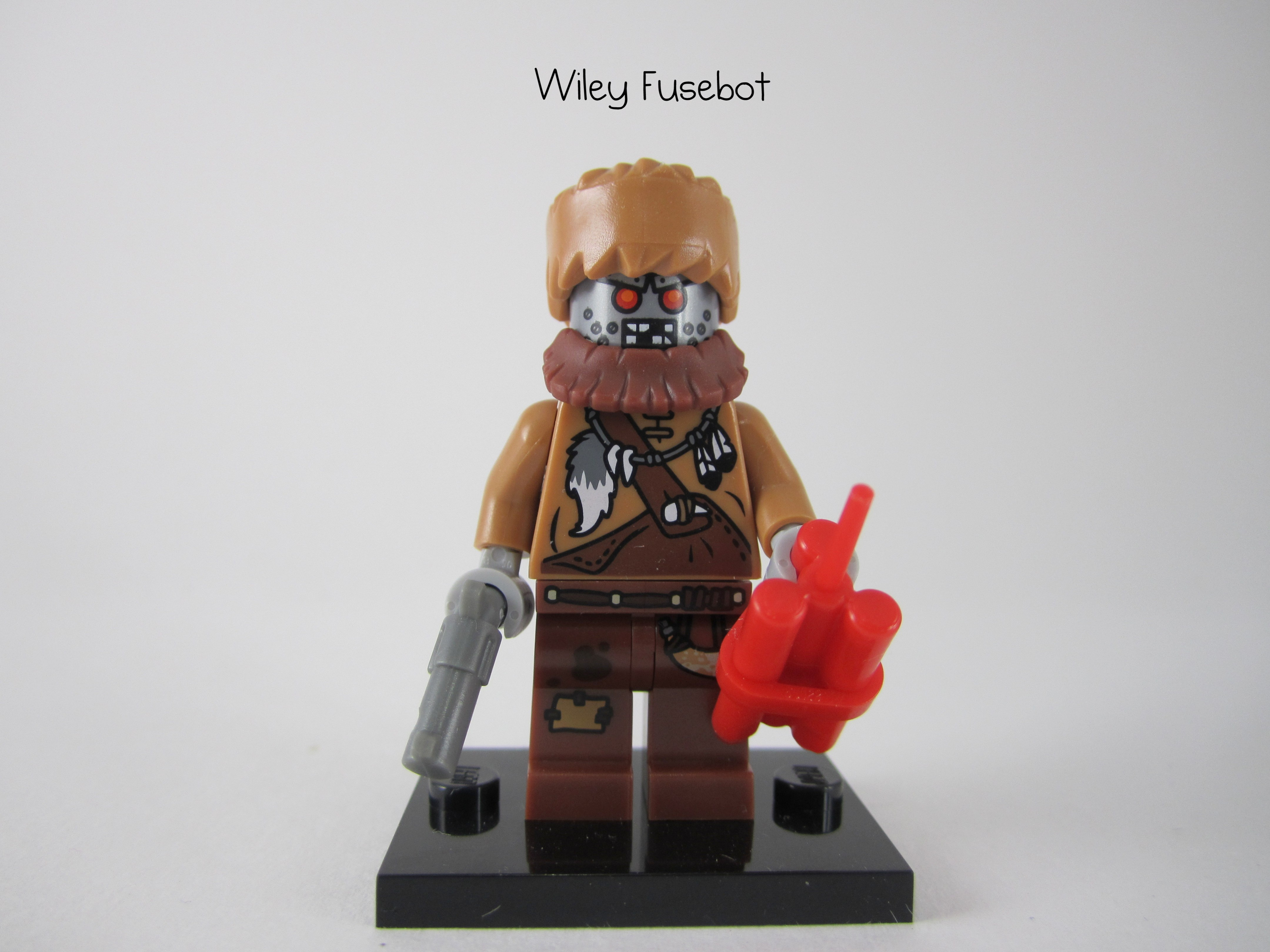 Wiley Fusebot minifig