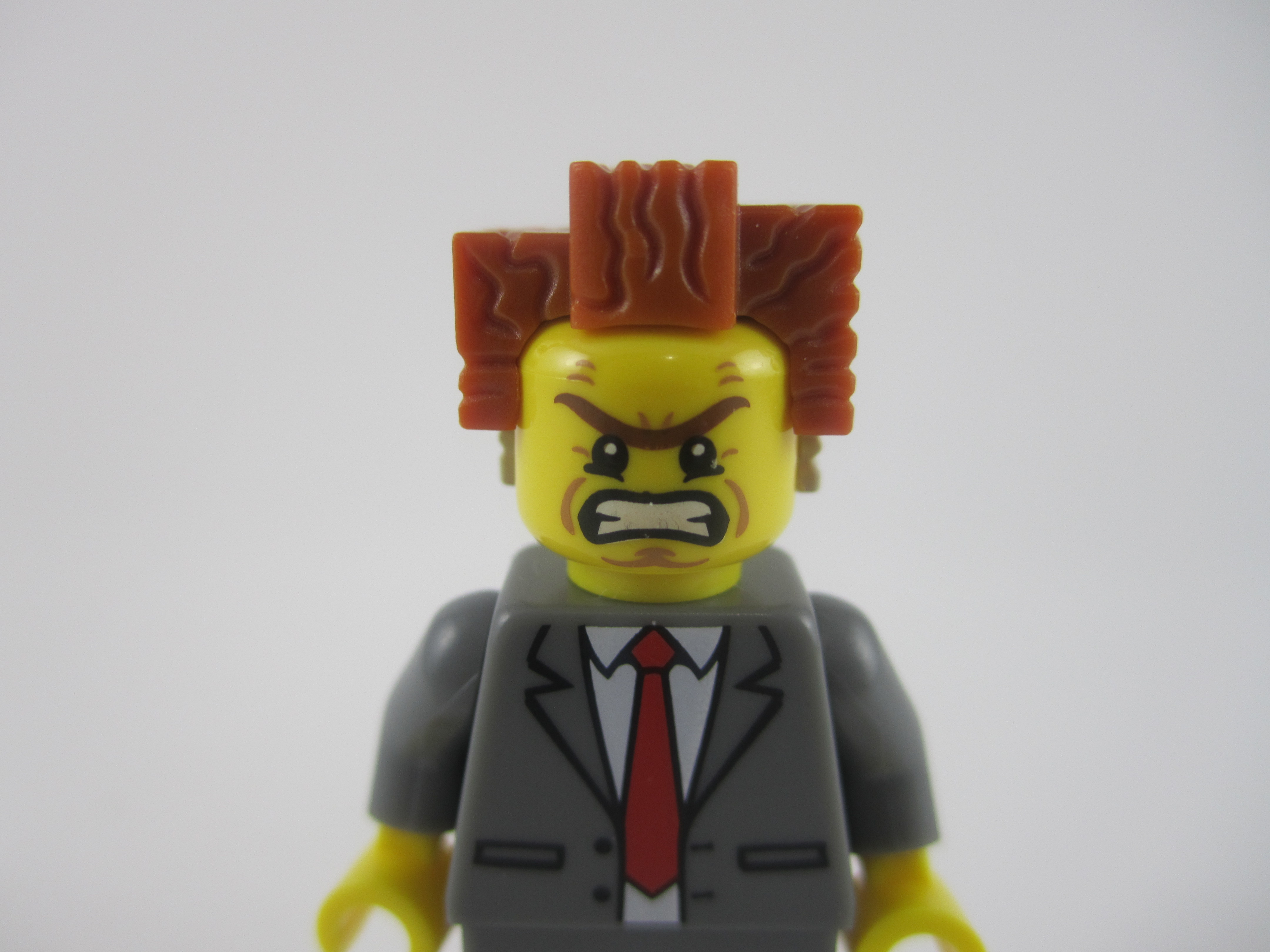 President Business Angry Face