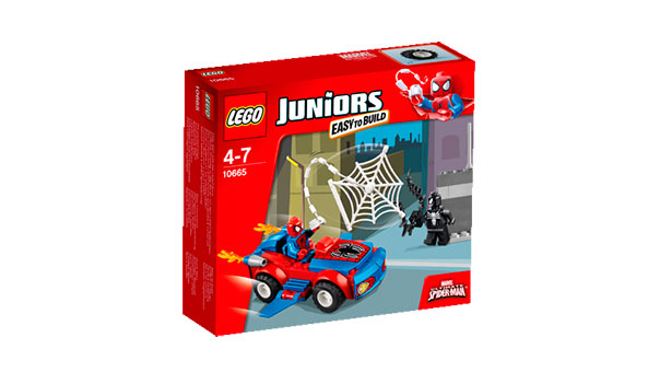 Spiderman Spider Car Pursuit Box