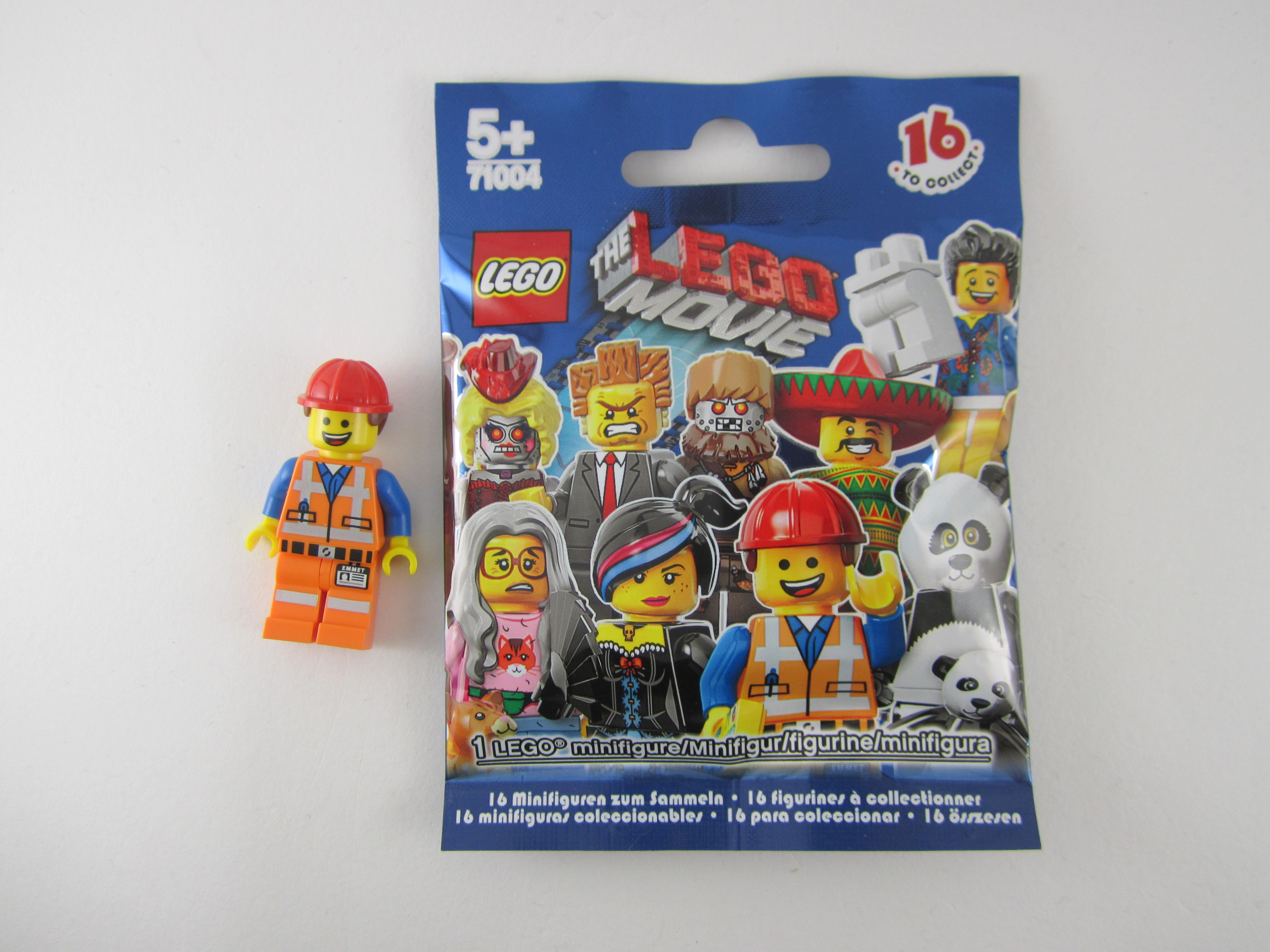 LEGO NEW REDDISH BROWN EMMETT THE MOVIE FIGURE MINIFIGURE MESSY HAIR PIECES