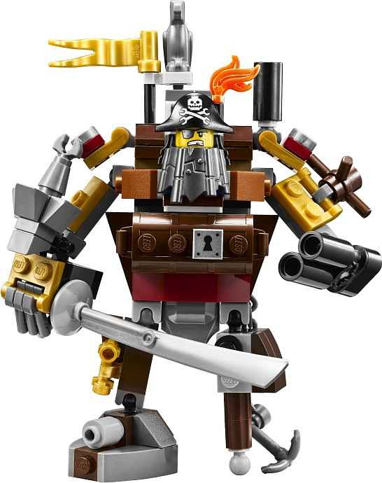 70810 - LEGO Movie Metalbeard