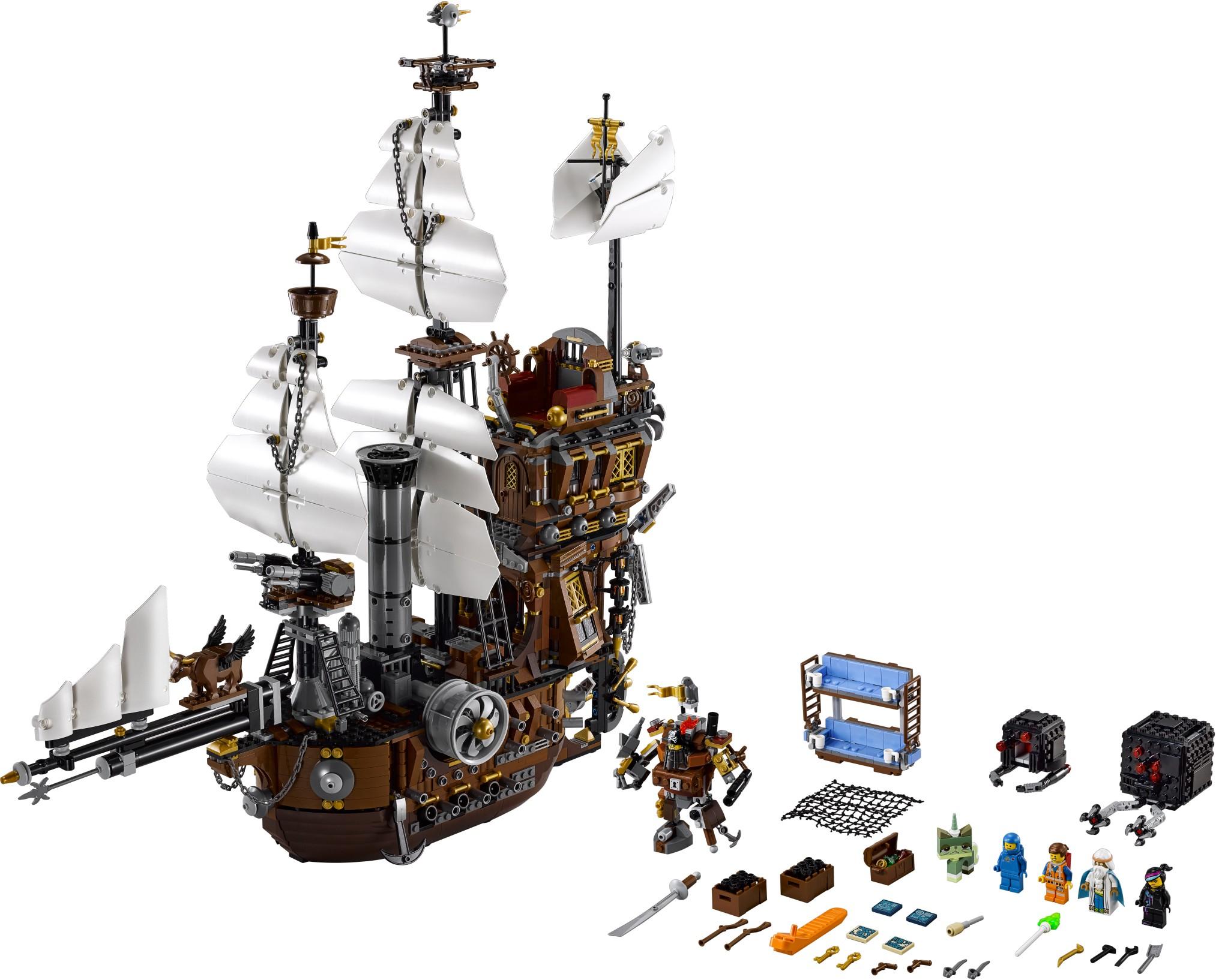 Lego Movie Toys : The lego movie s metalbeard sea cow to cost au in