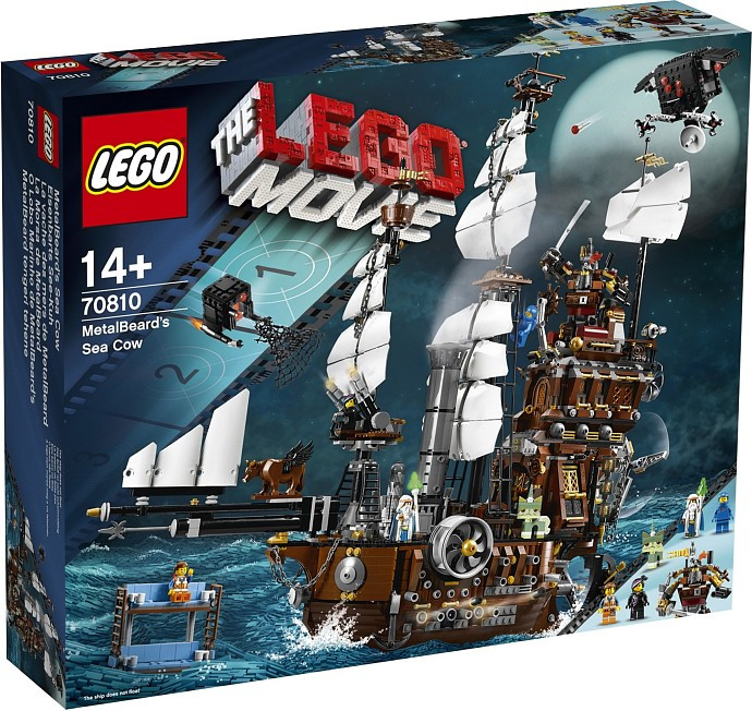 70810 - LEGO Movie Metalbeard's Sea Cow Box