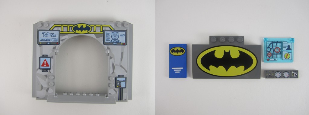 LEGO Juniors Batman Printed Tiles