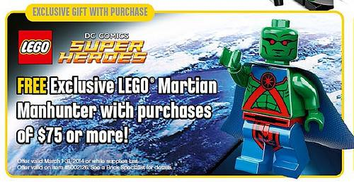 LEGO Martian Manhunter March Promotion