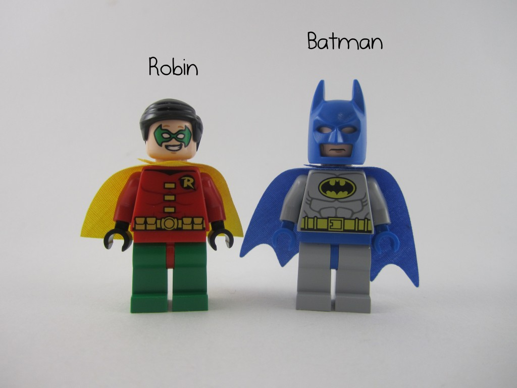 Lego Juniors Batman and Robin Miniigures