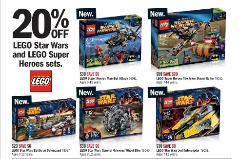 Target LEGO Sale February 2014