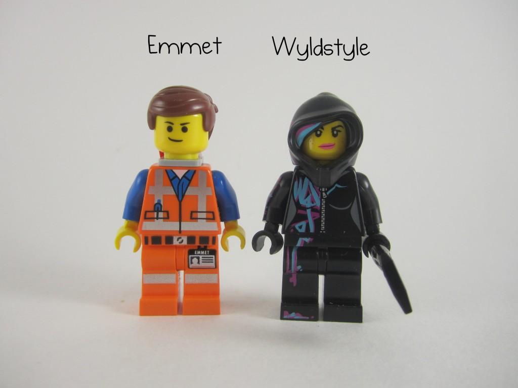 Emmet Wyldstyle Minifigures