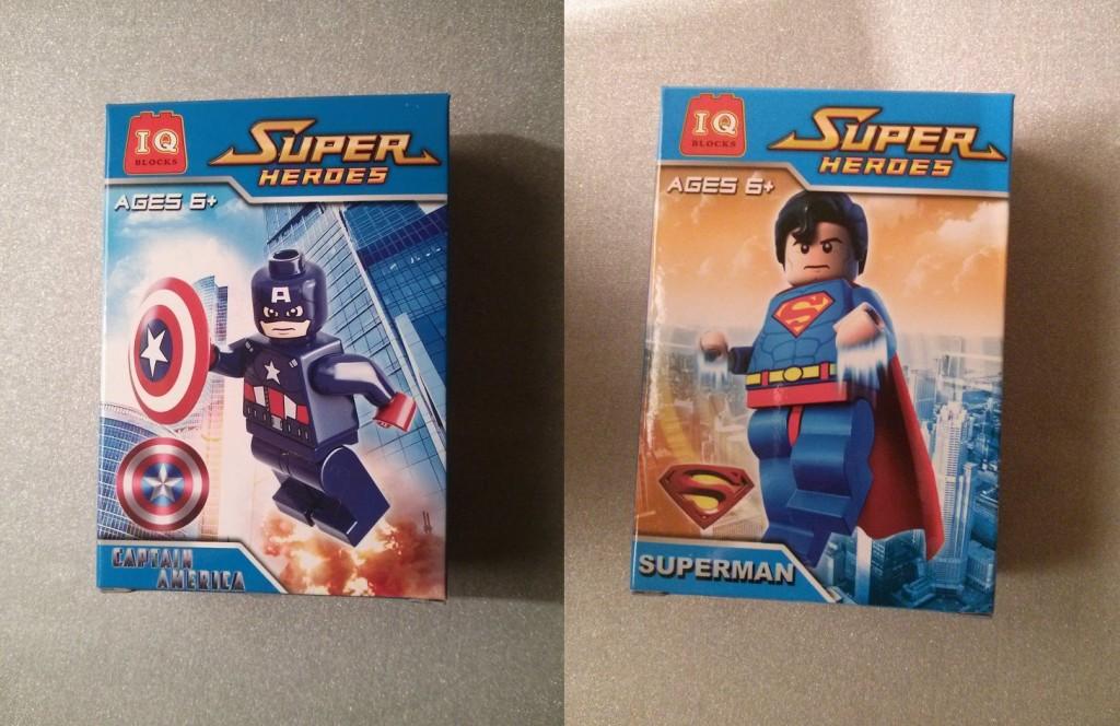 Fake Lego Minifigures