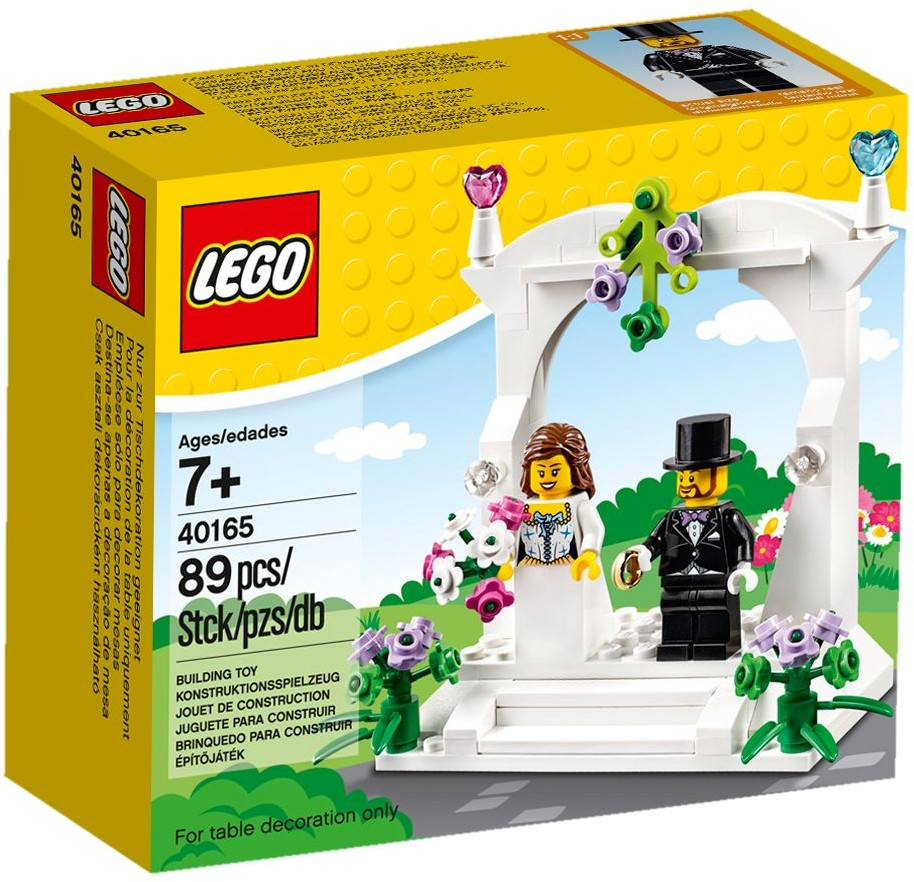 LEGO 40165 Wedding Favour Set 2016 Version - Box