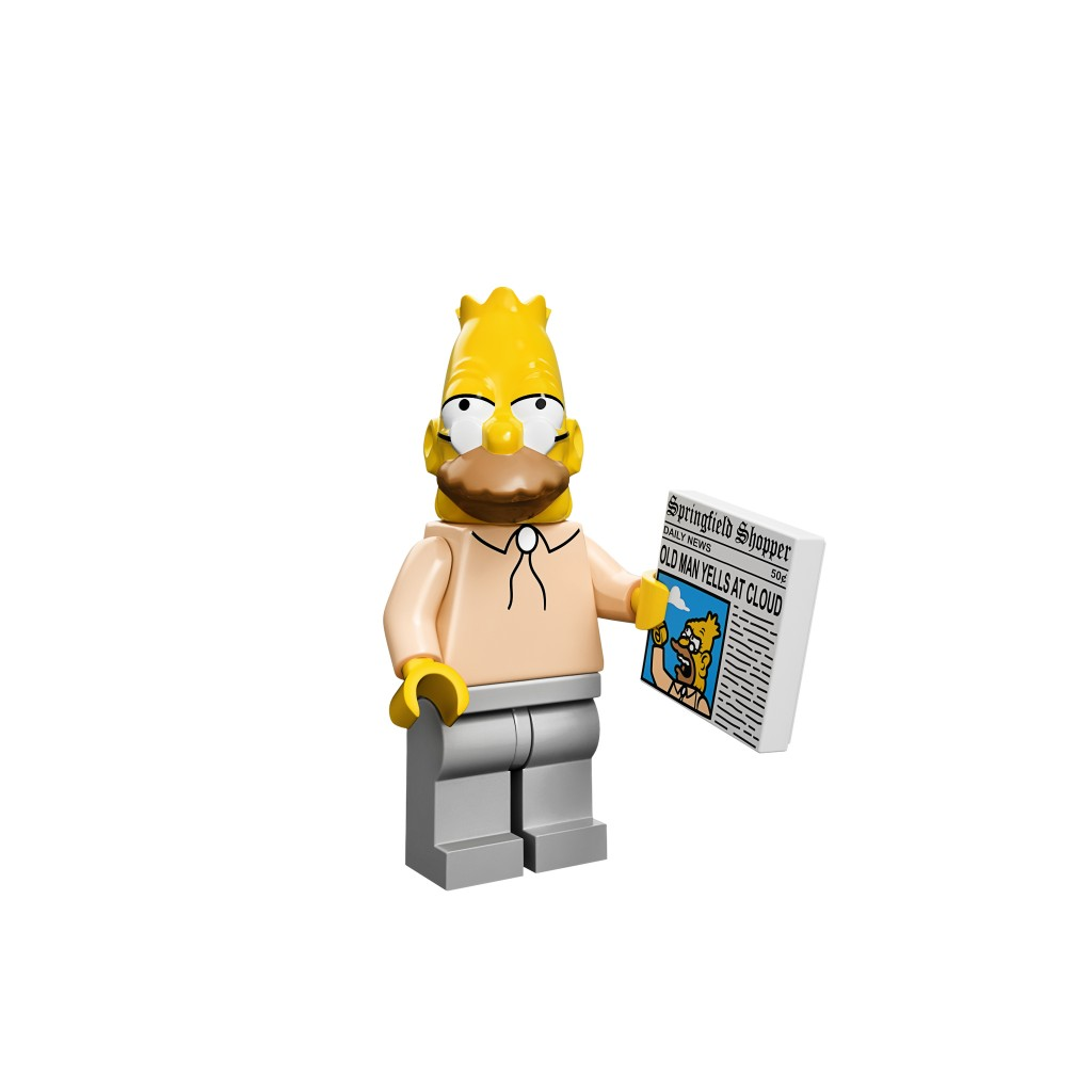 LEGO Abe Simpsons Minifigure
