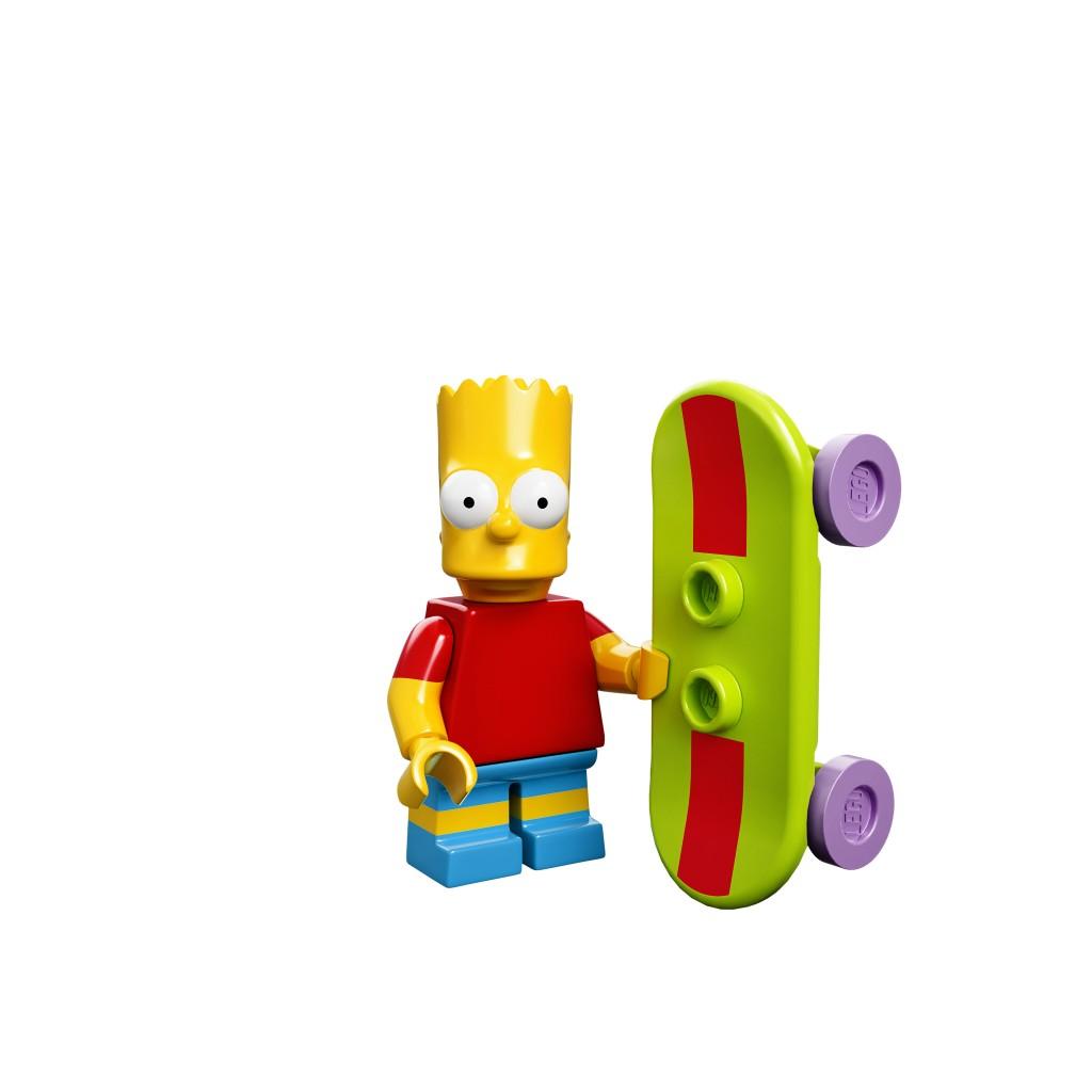 LEGO Bart Minfigure