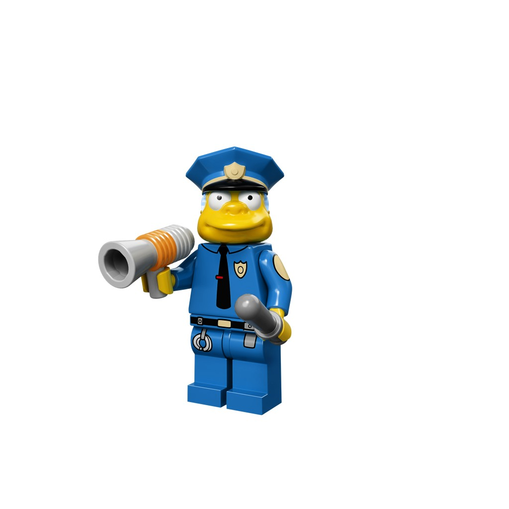 LEGO Chief Wiggum Minifigure