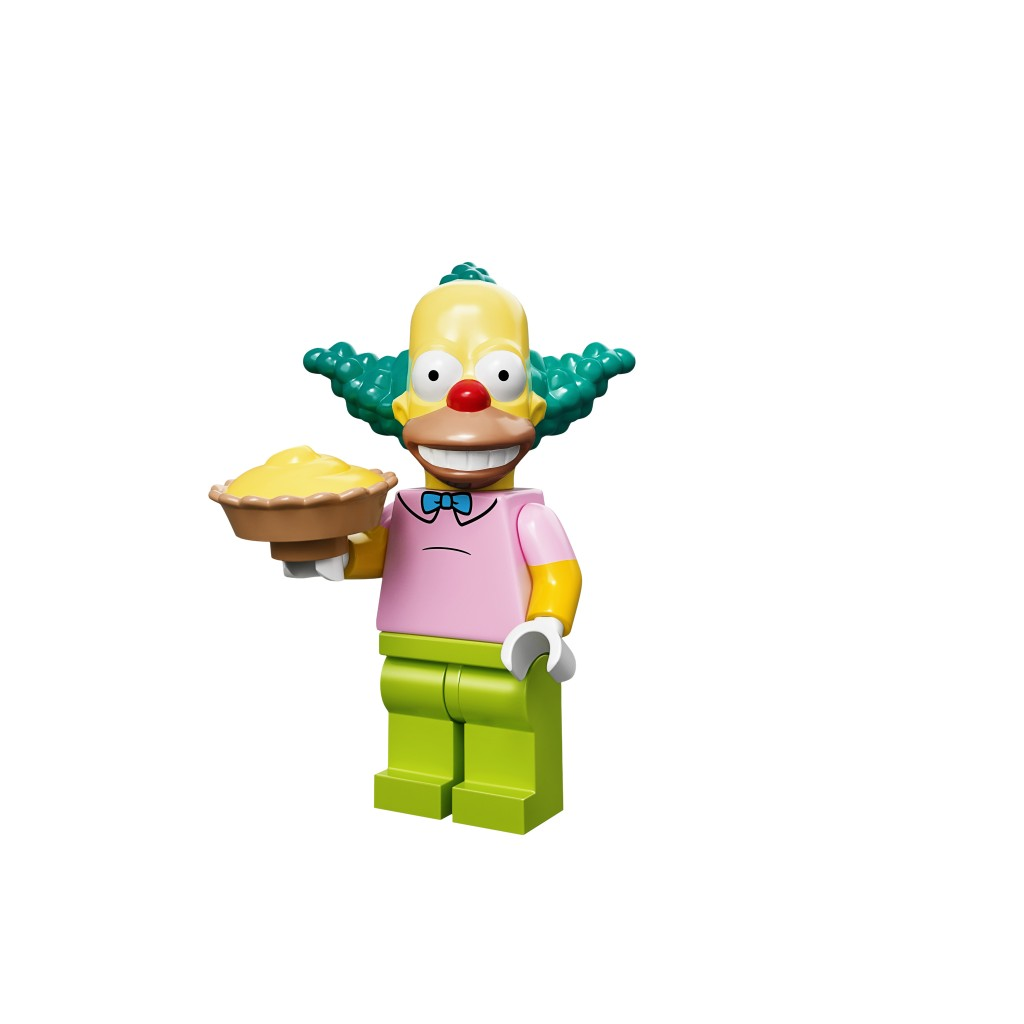 LEGO Krusty the Clown Minifigure