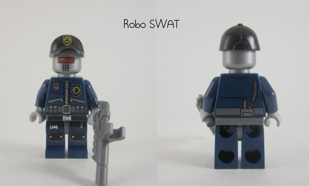 LEGO Movie Robot Swat