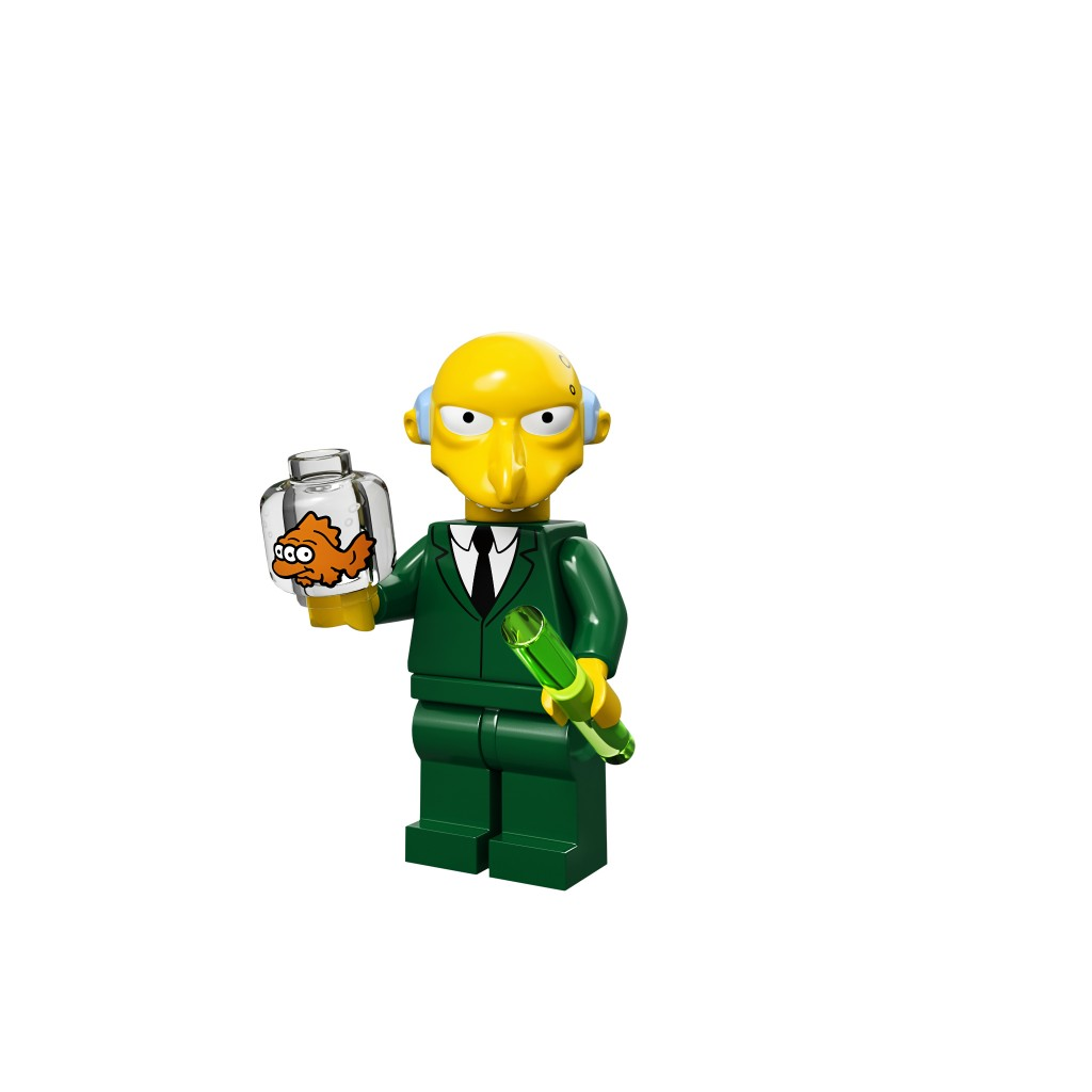 LEGO Mr Burns Minifigure