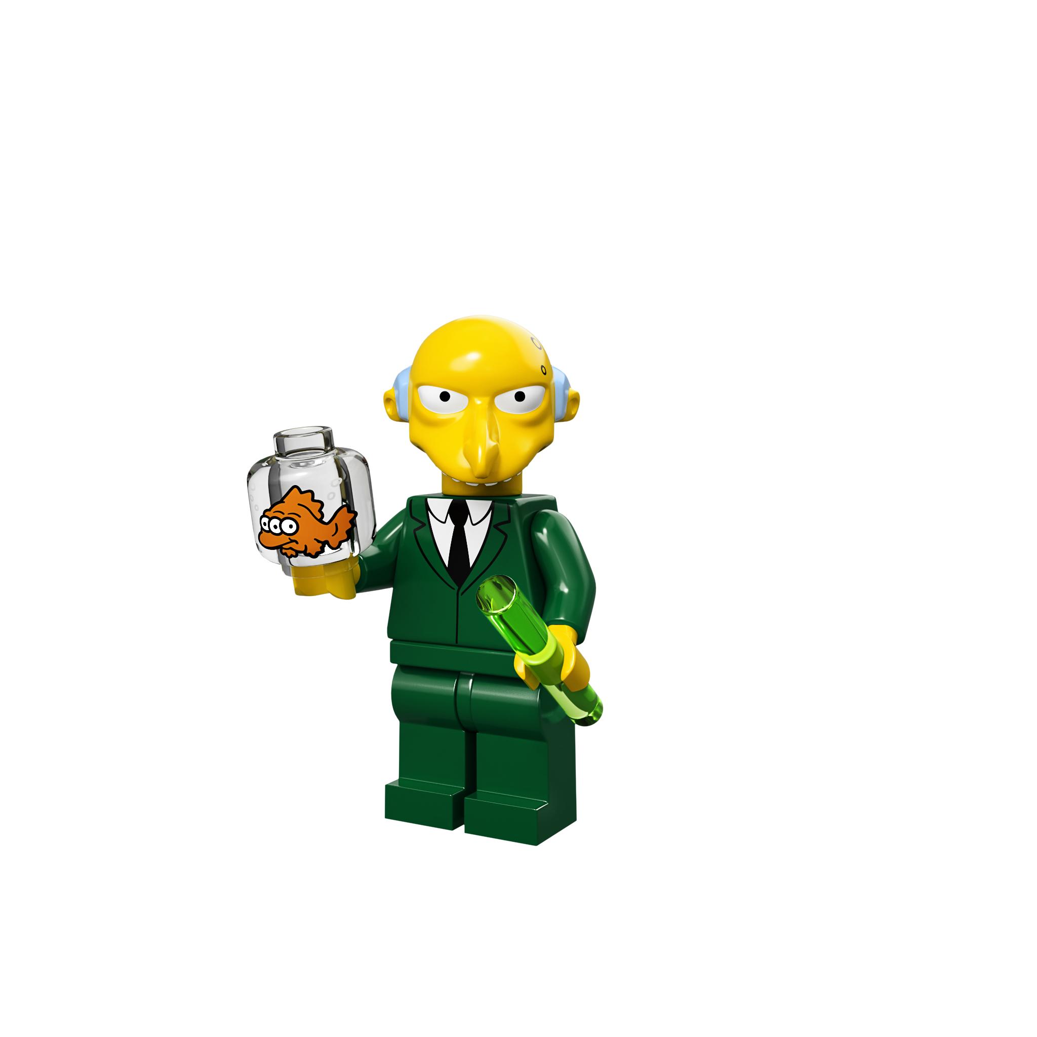 lego simpsons mini figures
