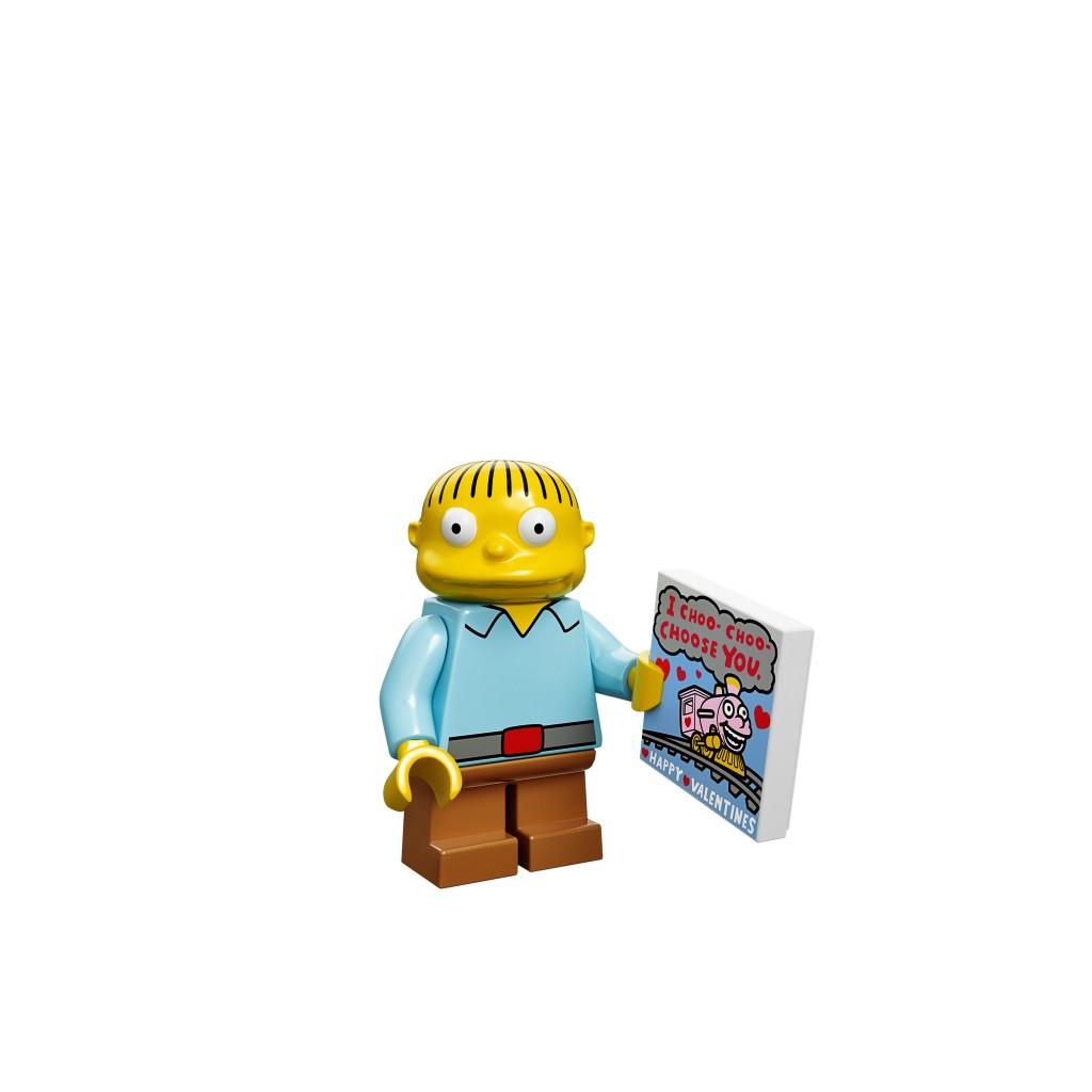 LEGO Ralph Wiggum Minifigure
