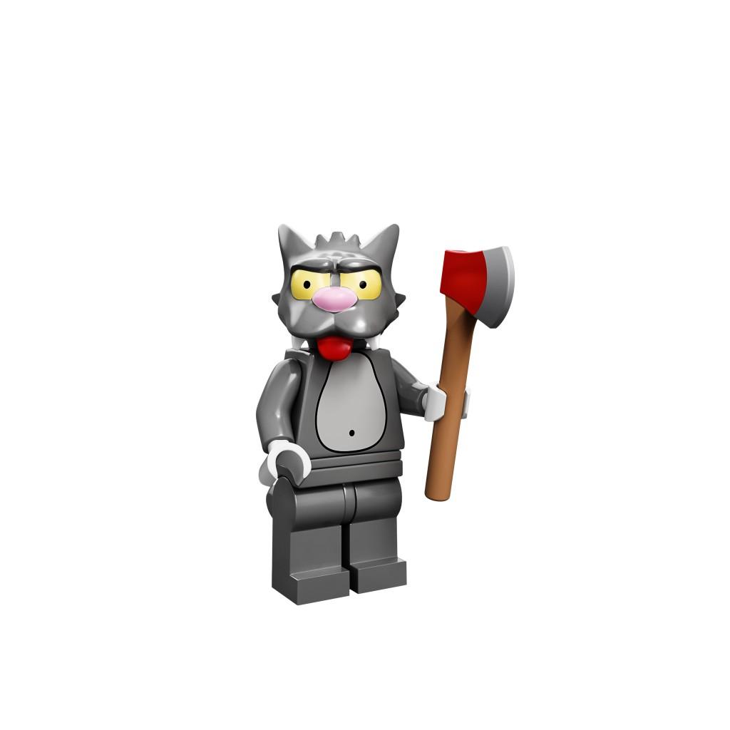 LEGO Scratchy Minifigure