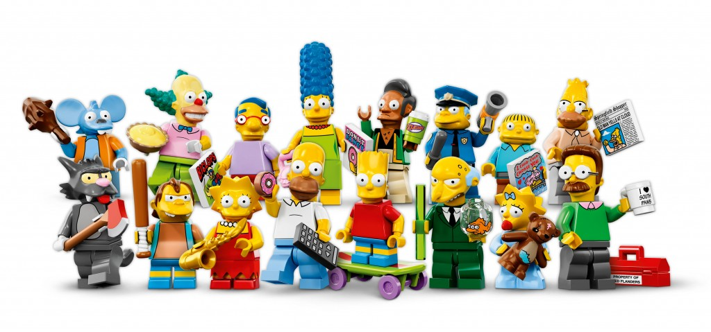 LEGO Simpsons Minifigures