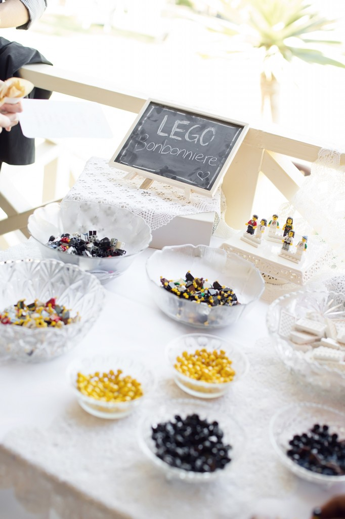 LEGO Wedding Favours