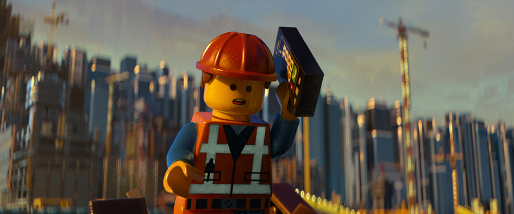 The LEGO Movie Emmet Construction Worker