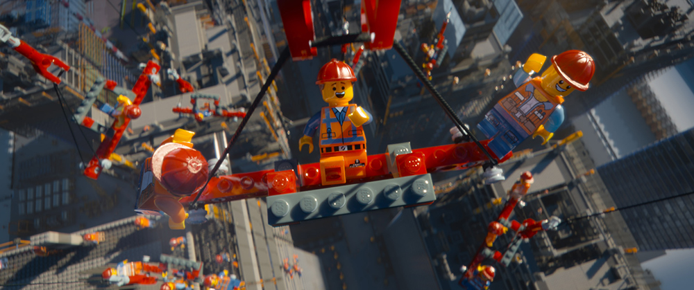 The LEGO Movie Emmet Construction
