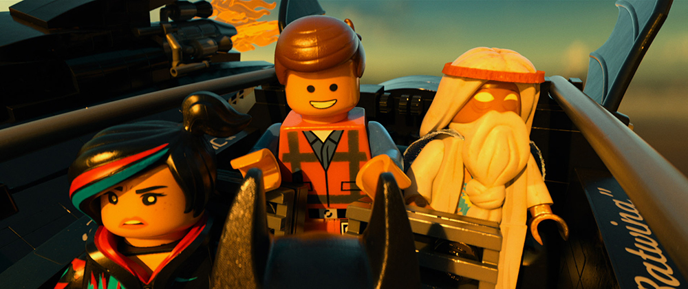 The LEGO Movie Emmet Vitruvius Wyldstyle