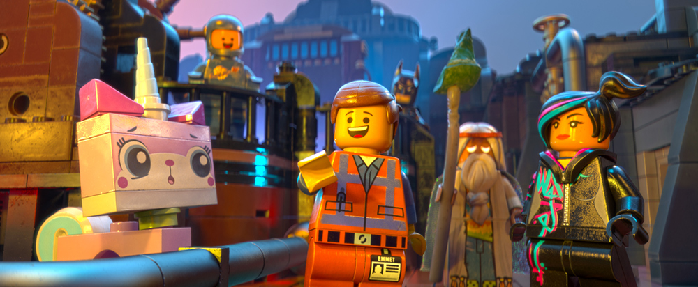 The LEGO Movie Main Characters