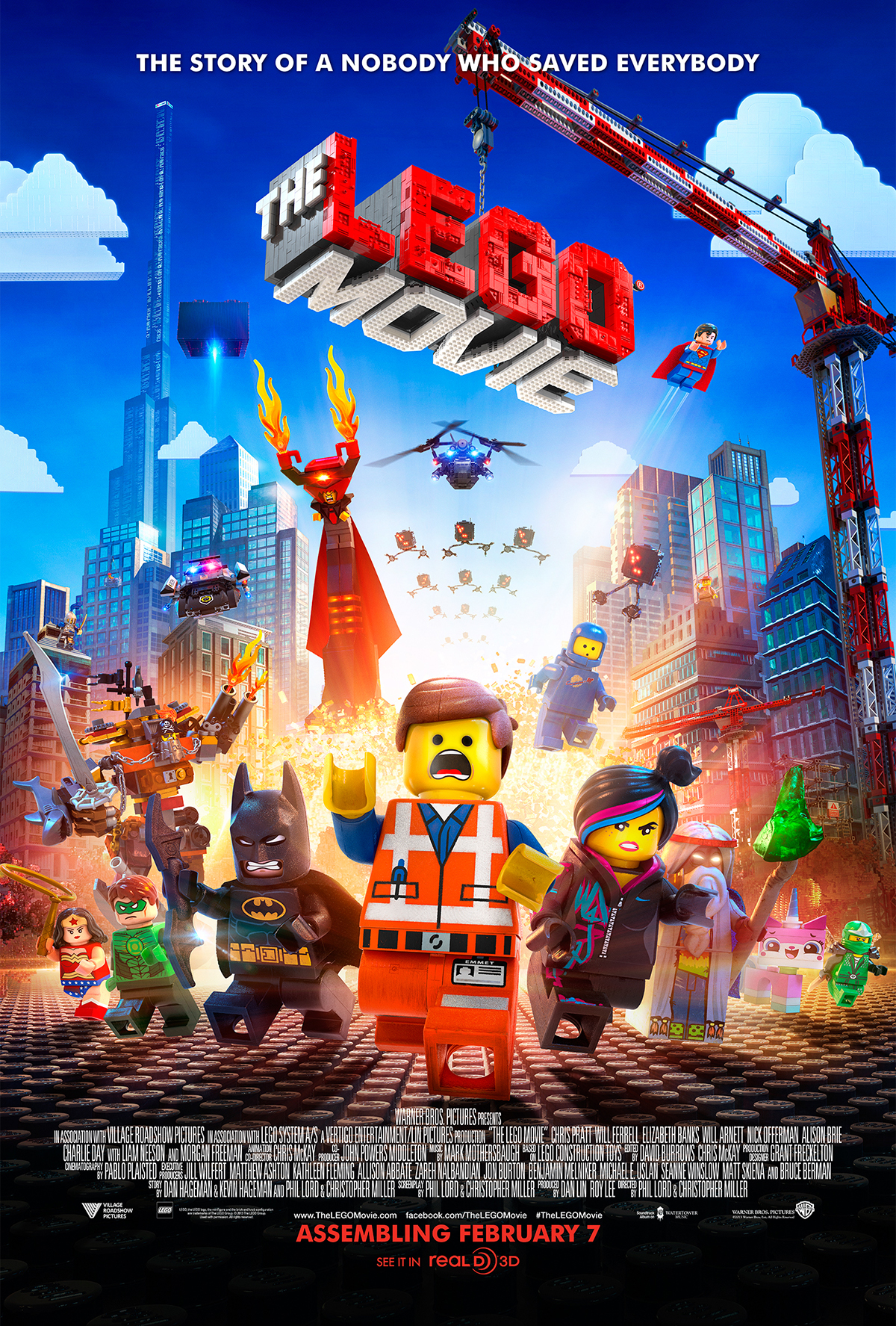 rhe lego movie