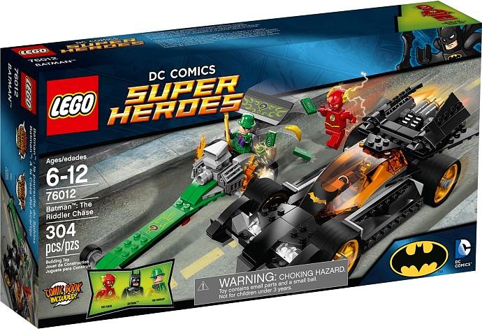 76012 Batman The Riddler Chase Box