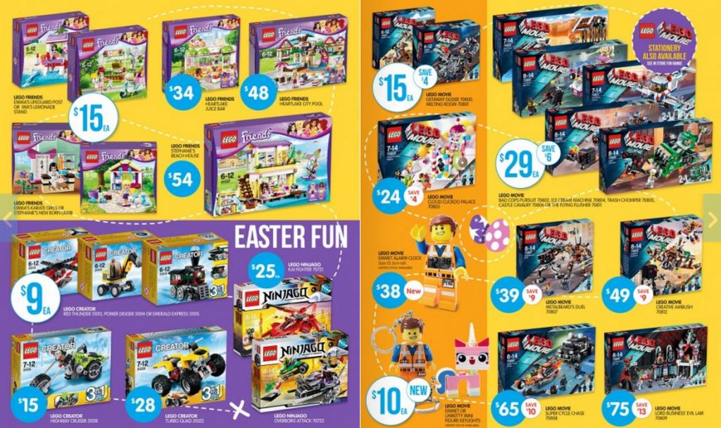 Australian LEGO Sales: The LEGO Movie Edition – April 2014