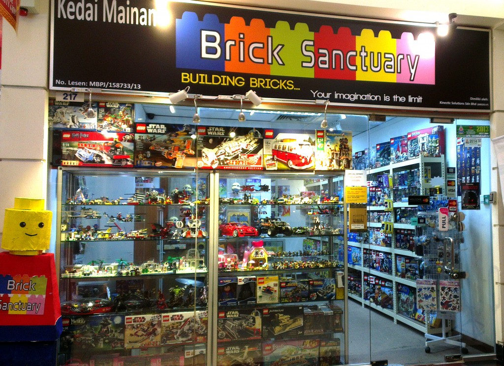 lego store spotlight brick sanctuary malaysia