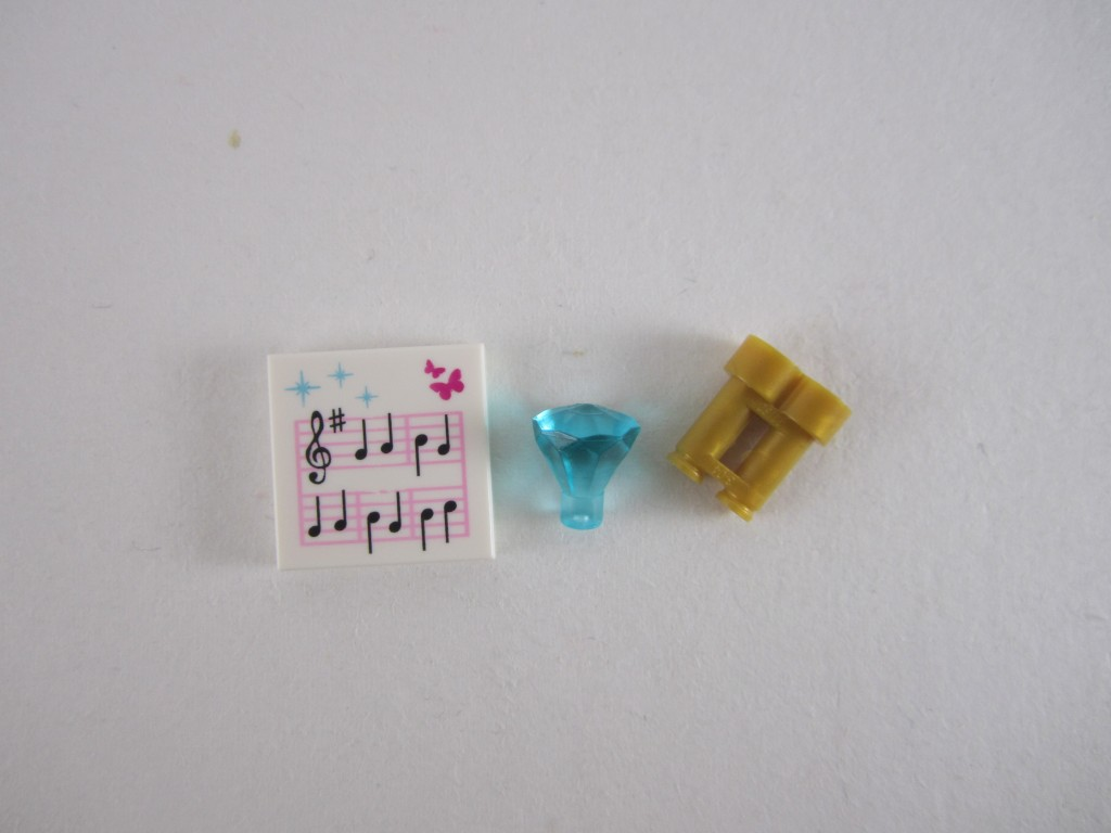 LEGO 41050 Ariel's Amazing Treasures Accessories