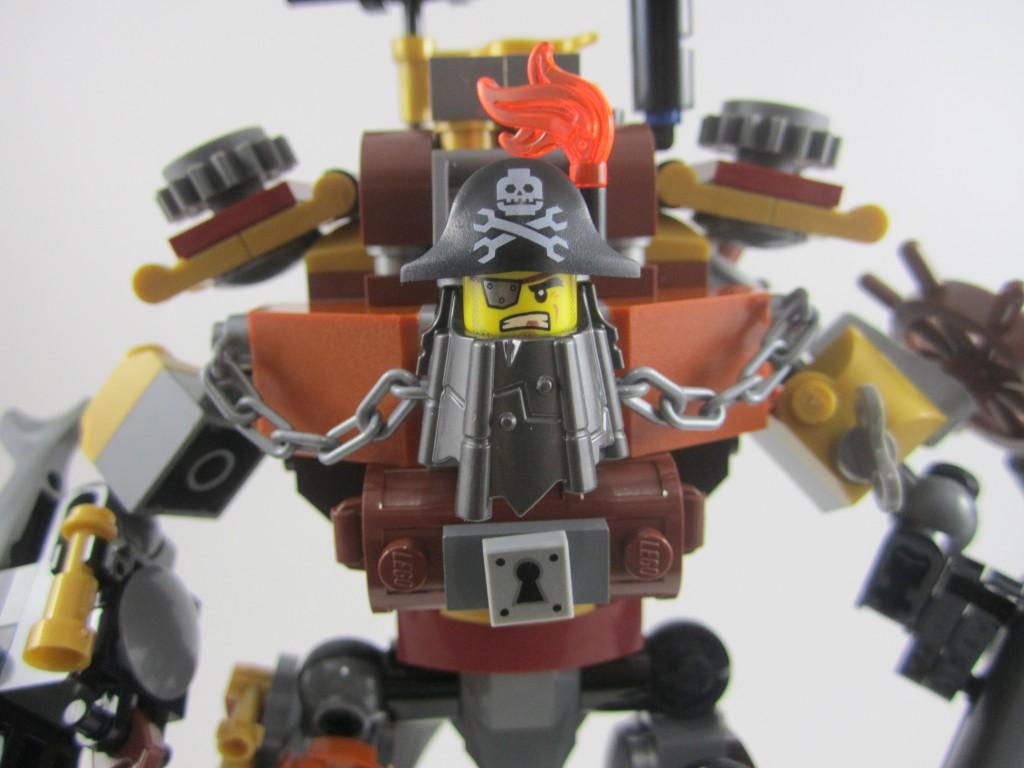 LEGO 70807 Metalbeard Face