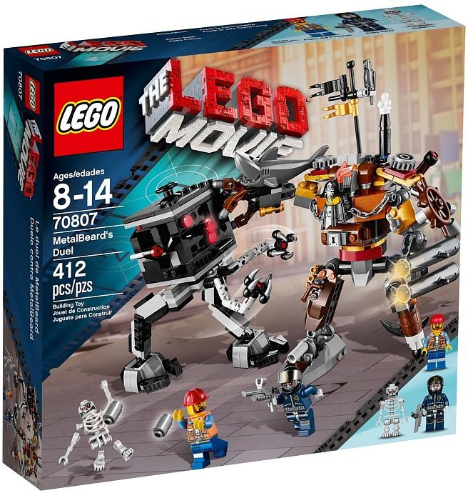 LEGO 70807 Metalbeard's Duel Box