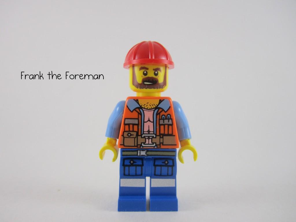 LEGO 70807 Metalbeard's Duel Frank the Foreman