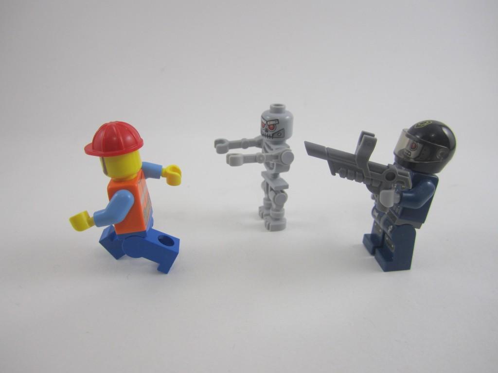 LEGO 70807 Metalbeard's Duel Minifigs
