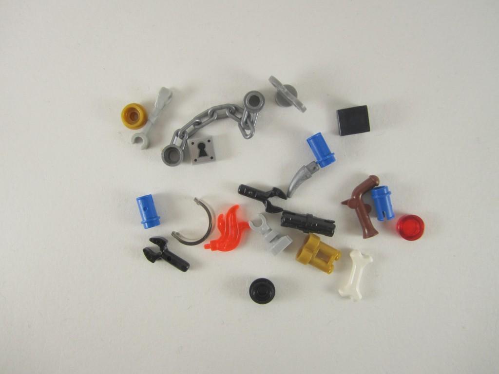 LEGO 70807 Metalbeard's Duel Spare Parts