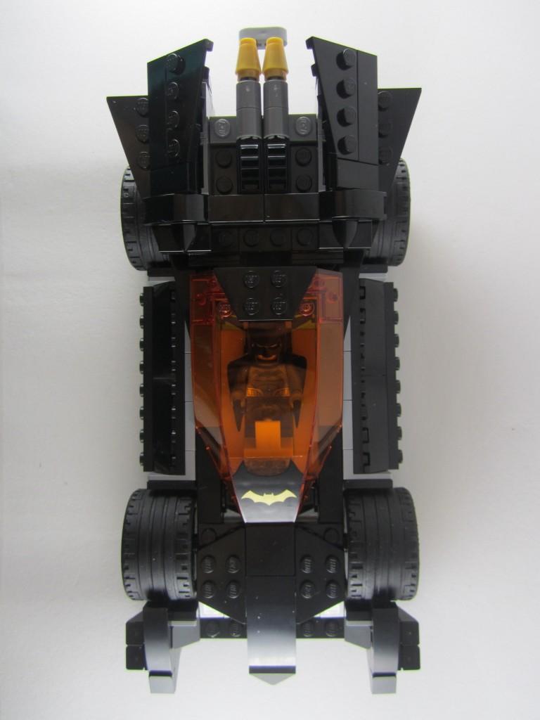 LEGO 76012 The Riddler Chase Batmobile Top