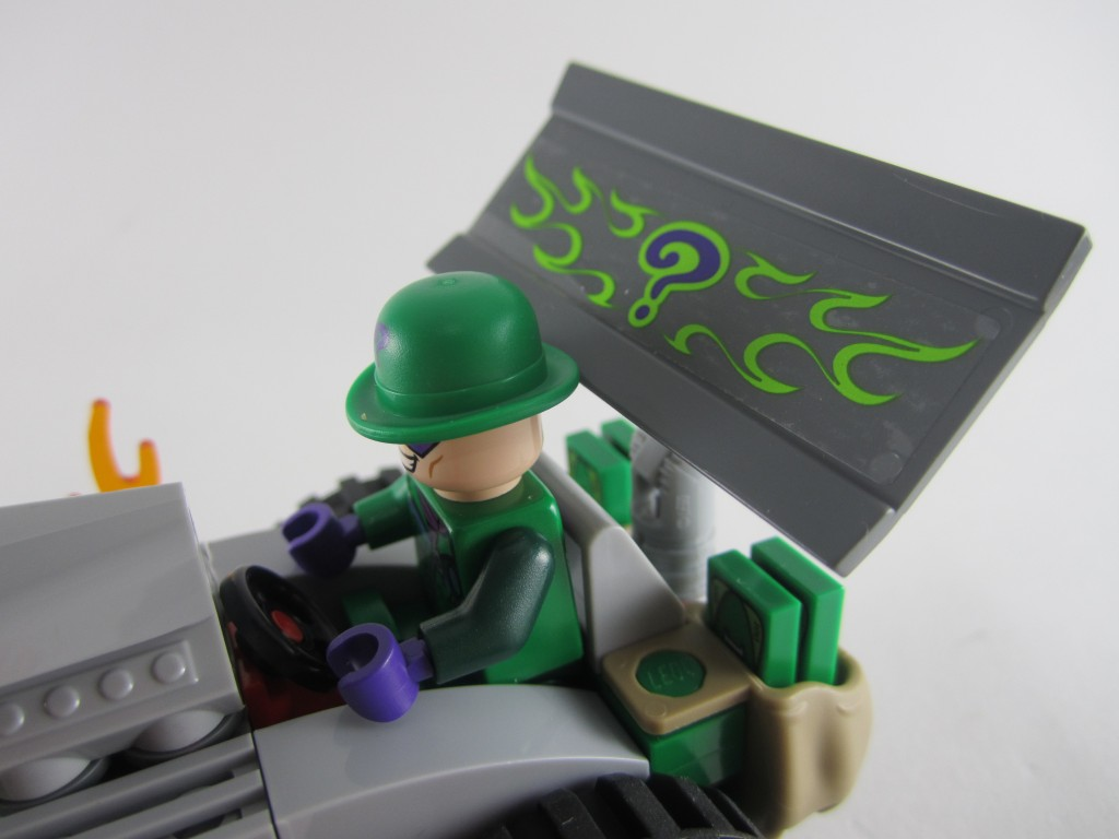 LEGO 76012 The Riddler Chase Roadster Driver's Seat