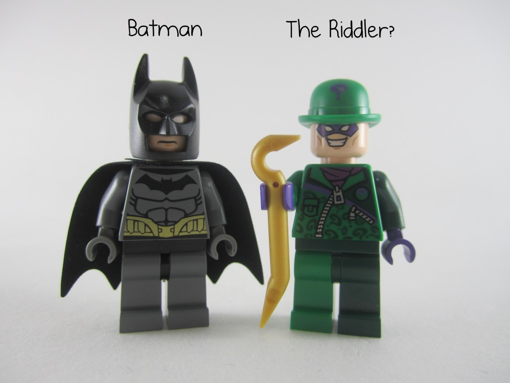 LEGO Batman and Riddler