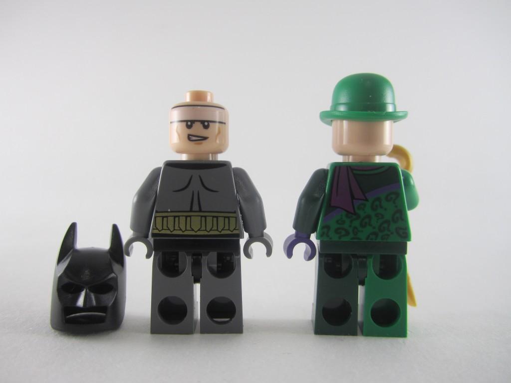 LEGO Batman and Riddler Back