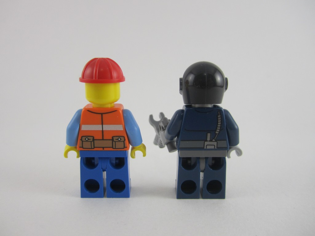 LEGO Frank The Foreman Robo Swat Back