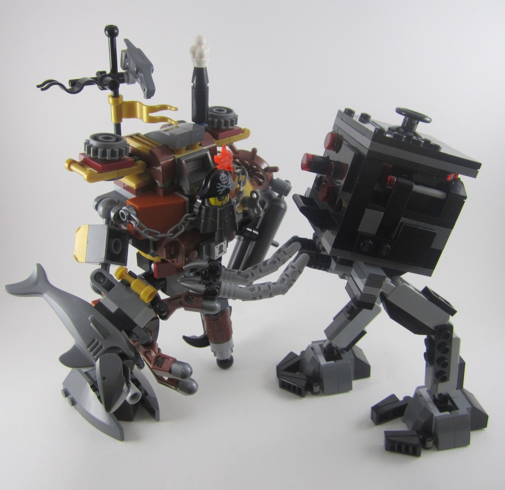 LEGO Metalbeard vs Micro Manager