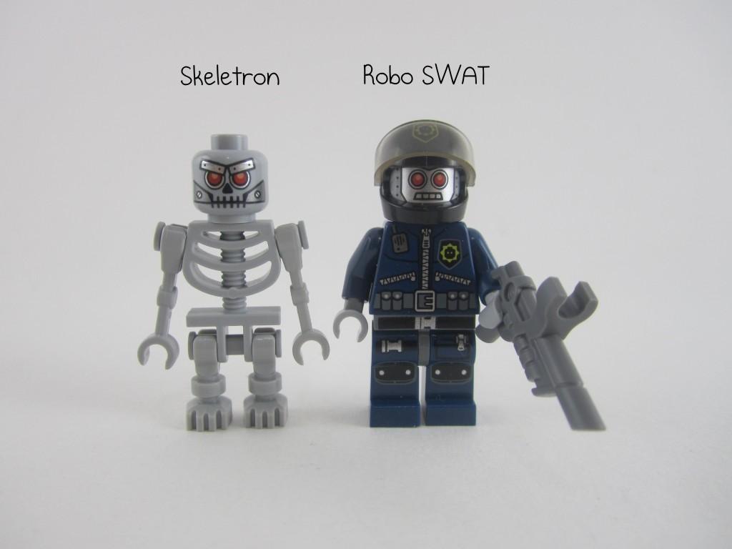 LEGO Robo SWAT Skeletron