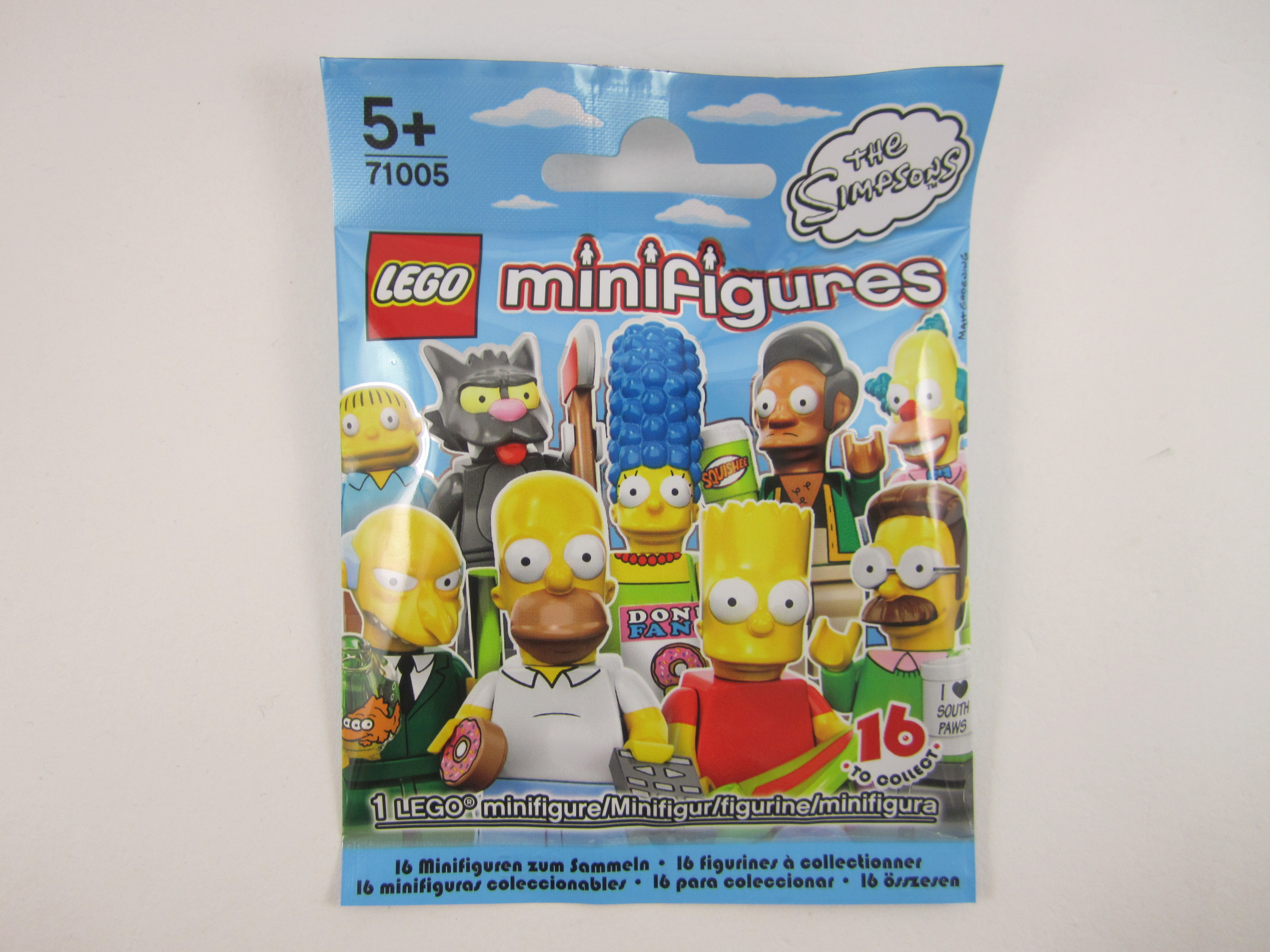 Lego Simpsons Minifigures On Sale In Australia Jay S