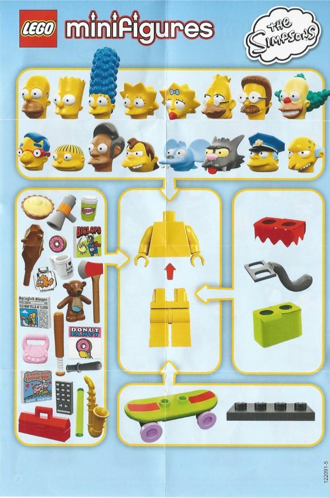 LEGO Simpsons Instruction Manual